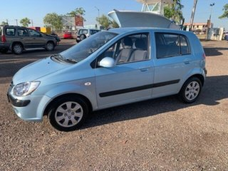 2011 Hyundai Getz Blue 4 Speed Auto Active Select Hatchback