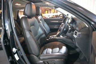 2018 Mazda CX-5 KF4W2A Akera SKYACTIV-Drive i-ACTIV AWD Black 6 Speed Sports Automatic Wagon