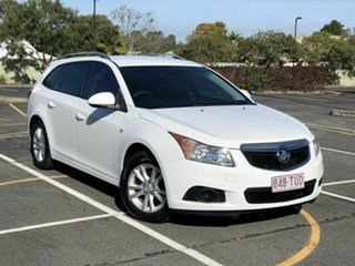 2013 Holden Cruze JH Series II MY14 CD Sportwagon White 6 Speed Sports Automatic Wagon.