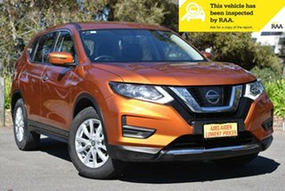 2018 Nissan X-Trail T32 Series II ST X-tronic 4WD Orange 7 Speed Constant Variable Wagon.