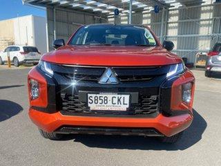 2021 Mitsubishi Triton MR MY22 GSR Double Cab Orange 6 Speed Sports Automatic Utility