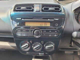 2018 Mitsubishi Mirage LA MY18 ES Orange 1 Speed Constant Variable Hatchback