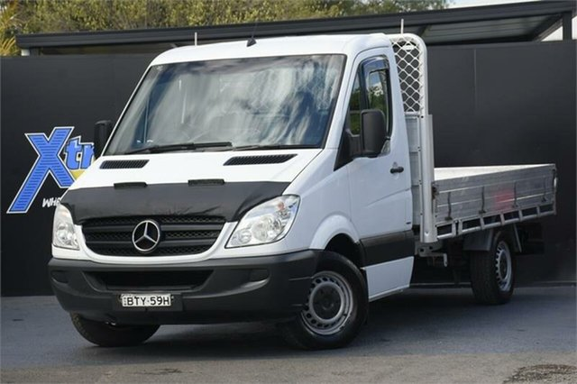 Used Mercedes-Benz Sprinter NCV3 MY11 516CDI LWB Campbelltown, 2011 Mercedes-Benz Sprinter NCV3 MY11 516CDI LWB White 6 Speed Manual Cab Chassis