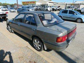 1992 Mazda 323 Grey 4 Speed Automatic Sedan