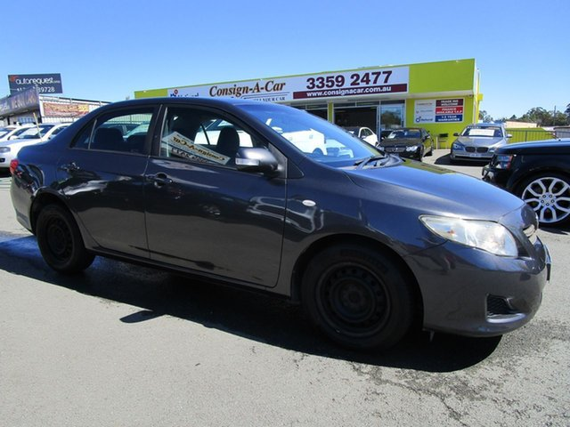 Used Toyota Corolla ZRE152R MY10 Ascent Kedron, 2010 Toyota Corolla ZRE152R MY10 Ascent Grey 4 Speed Automatic Sedan