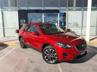 2016 Mazda CX-5 KE1032 Grand Touring SKYACTIV-Drive i-ACTIV AWD Red 6 Speed Sports Automatic Wagon.