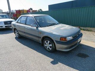 1992 Mazda 323 Grey 4 Speed Automatic Sedan.