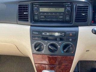 2003 Toyota Corolla ZZE122R Ultima Glacier White 4 Speed Automatic Sedan