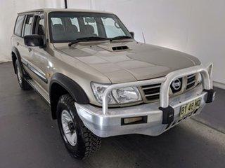 2004 Nissan Patrol GU IV MY05 ST Gold 4 Speed Automatic Wagon.
