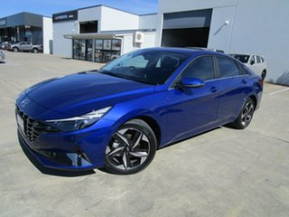 2021 Hyundai i30 CN7.V1 MY21 Active Blue 6 Speed Sports Automatic Sedan.