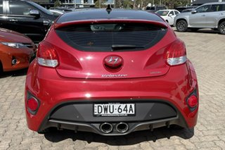 2017 Hyundai Veloster FS5 Series 2 MY16 SR Turbo Boston Red 7 Speed Auto Dual Clutch Coupe