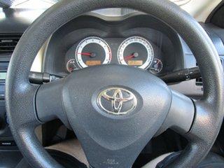 2010 Toyota Corolla ZRE152R MY10 Ascent Grey 4 Speed Automatic Sedan