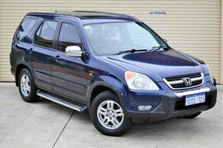 2002 Honda CR-V RD MY2002 Sport 4WD Blue 4 Speed Automatic Wagon.