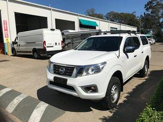 2017 Nissan Navara D23 S2 RX White 7 speed Automatic Utility.