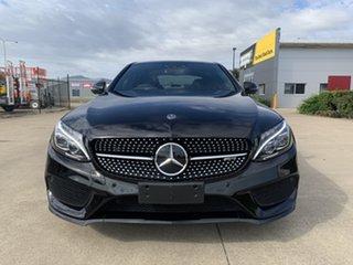 2017 Mercedes-Benz C-Class W205 808MY C43 AMG 9G-Tronic 4MATIC Black 9 Speed Sports Automatic Sedan