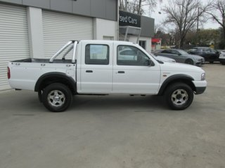 2004 Ford Courier PH GL Crew Cab White 5 Speed Manual Utility.