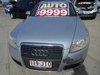 2006 Audi A6 4F Tiptronic Quattro Silver 6 Speed Sports Automatic Sedan.