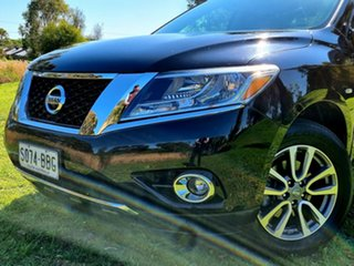 2013 Nissan Pathfinder R52 MY14 ST-L X-tronic 2WD Black 1 Speed Constant Variable Wagon