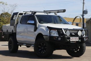 2012 Ford Ranger PX XLT Double Cab White 6 Speed Sports Automatic Utility.