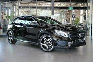 2019 Mercedes-Benz GLA-Class X156 809+059MY GLA180 DCT Black 7 Speed Sports Automatic Dual Clutch.