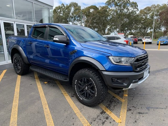 Used Ford Ranger PX MkIII 2020.25MY Raptor Epsom, 2019 Ford Ranger PX MkIII 2020.25MY Raptor Blue 10 Speed Sports Automatic Double Cab Pick Up