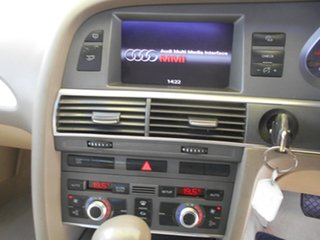 2006 Audi A6 4F Tiptronic Quattro Silver 6 Speed Sports Automatic Sedan
