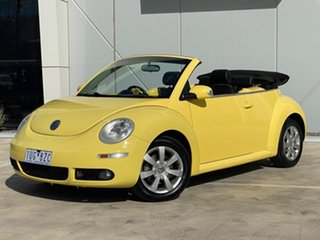 2006 Volkswagen Beetle 1Y MY2006 Yellow 6 Speed Sports Automatic Cabriolet.