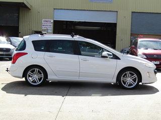 2010 Peugeot 308 T7 Sportium Touring Alaska White 6 Speed Sports Automatic Wagon