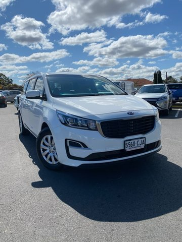 Used Kia Carnival YP MY20 S Hillcrest, 2019 Kia Carnival YP MY20 S White 8 Speed Sports Automatic Wagon