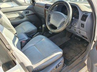 1997 Toyota Landcruiser Prado VZJ95R VX Grande White 4 Speed Automatic Wagon