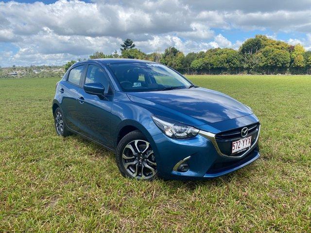 Pre-Owned Mazda 2 DJ Genki (5Yr) Atherton, 2019 Mazda 2 DJ Genki (5Yr) Blue 6 Speed Manual Hatchback