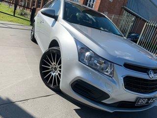 2015 Holden Cruze JH Series II MY16 Equipe Silver 6 Speed Sports Automatic Sedan.