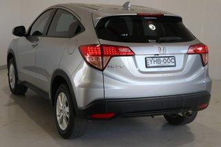 2016 Honda HR-V MY16 VTi Silver 1 Speed Constant Variable Hatchback.