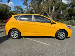 2016 Hyundai Accent RB3 MY16 Active Sunflower 6 Speed Constant Variable Hatchback.
