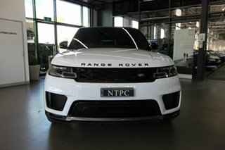 2019 Land Rover Range Rover Sport L494 20MY HSE White 8 Speed Sports Automatic Wagon