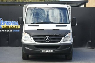 2011 Mercedes-Benz Sprinter NCV3 MY11 516CDI LWB White 6 Speed Manual Cab Chassis.
