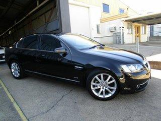 2012 Holden Calais VE II MY12 Black 6 Speed Sports Automatic Sedan.