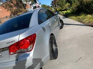 2015 Holden Cruze JH Series II MY16 Equipe Silver 6 Speed Sports Automatic Sedan