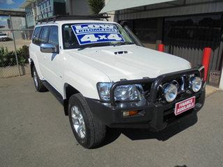 2006 Nissan Patrol GU IV MY05 ST White 5 Speed Manual Wagon