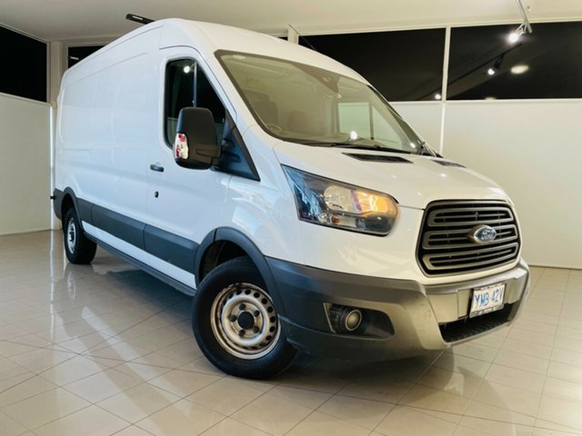 Used Ford Transit VO 350L (Mid Roof) Deer Park, 2017 Ford Transit VO 350L (Mid Roof) White 6 Speed Manual Van