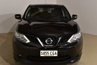 2014 Nissan Qashqai J11 TS Black 1 Speed Constant Variable Wagon.