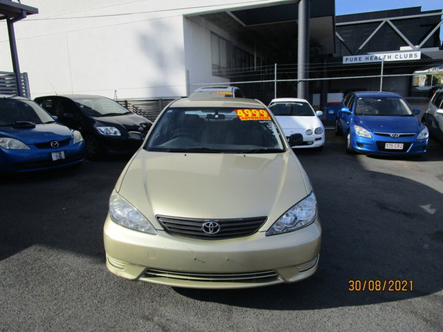 Used Toyota Camry ACV36R Upgrade Altise Coorparoo, 2005 Toyota Camry ACV36R Upgrade Altise Gold 4 Speed Automatic Sedan