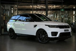 2019 Land Rover Range Rover Sport L494 20MY HSE White 8 Speed Sports Automatic Wagon.