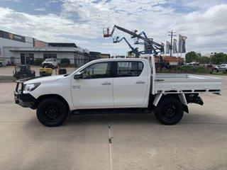 2017 Toyota Hilux GUN126R SR Double Cab White/030317 6 Speed Sports Automatic Utility