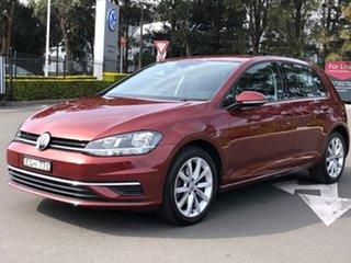 2019 Volkswagen Golf 7.5 MY20 110TSI DSG Comfortline Red 7 Speed Sports Automatic Dual Clutch