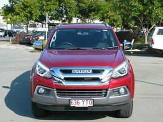 2019 Isuzu MU-X UC MY18 LS-T (4x4) Red 6 Speed Auto Sequential Wagon.