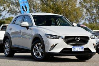 2017 Mazda CX-3 DK2W7A Maxx SKYACTIV-Drive Cream 6 Speed Sports Automatic Wagon.
