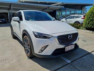 2017 Mazda CX-3 DK2W7A Akari SKYACTIV-Drive White 6 Speed Sports Automatic Wagon.
