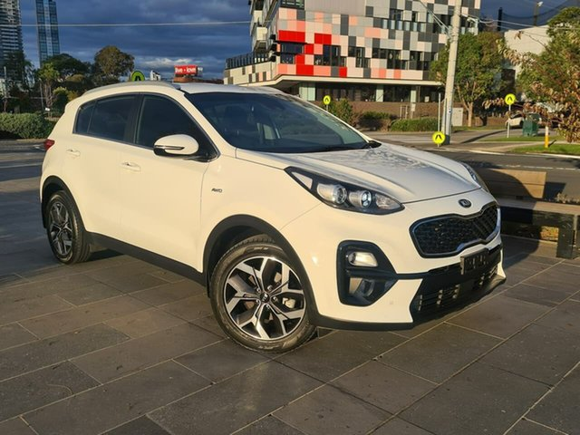 Used Kia Sportage QL MY19 SLi AWD South Melbourne, 2019 Kia Sportage QL MY19 SLi AWD White 8 Speed Sports Automatic Wagon