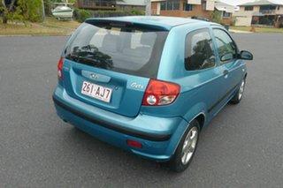 2003 Hyundai Getz TB XL Blue 5 Speed Manual Hatchback.